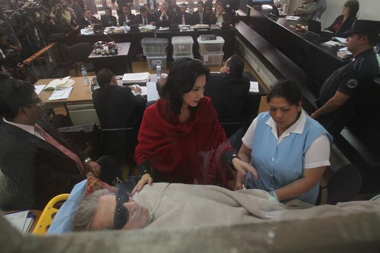 Ríos Montt fue declarado mentalmente incapacitado recientemente. (Foto Prensa Libre: Hemeroteca PL)