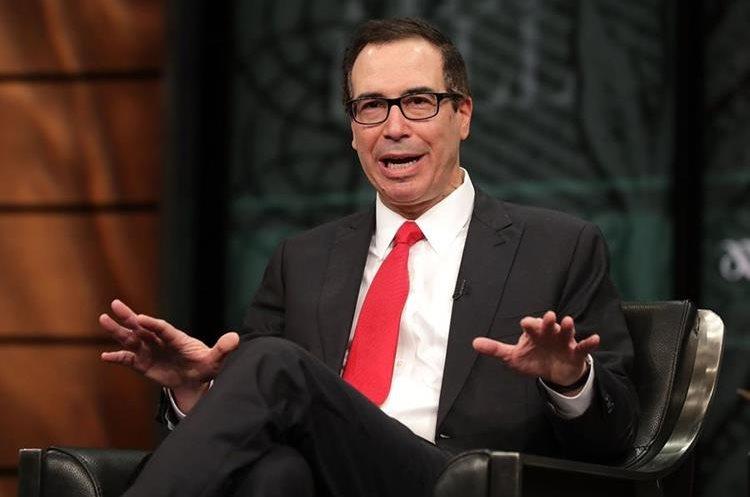 Steven Mnuchin, secretario del Tesoro de EEUU, confirma rebaja de impuesto a corporaciones. (AFP)