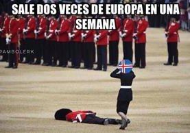 Los mayoría de los memes hicieron alusión a la salida de Inglaterra de la Unión Europea. (Foto Prensa Libre: Redes Sociales)