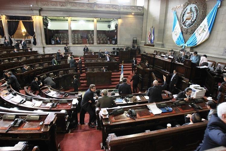 La octava legislatura del Congreso guatemalteco empezaría con una integración distinta a la que oficialice el TSE. (Foto Prensa Libre: Hemeroteca)