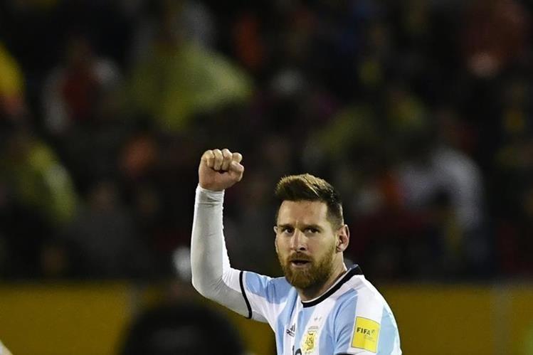 Messi aseguró que todo salió perfecto en el partido contra Ecuador (Foto Prensa Libre: AFP)