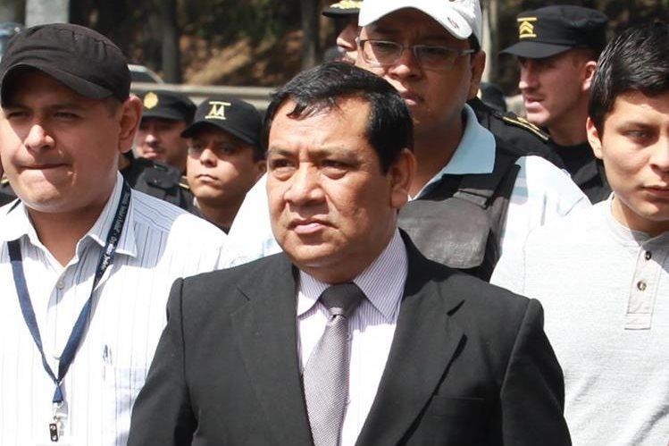 Juez Luis Patán no goza de inmunidad y podrá ser investigado por la supuesta comisión de delito. (Foto Prensa Libre: Hemeroteca PL)