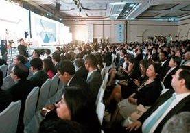 El segmento de convenciones y reuniones en el país tienen participantes tanto nacionales como extranjeros. (Foto, Prensa Libre: Hemeroteca PL)