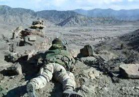 Fuerzas afganas le arrebatan la zona montañosa de Tora Bora el escondite de Bin Laden al Estado Islámico.(EFE).