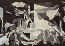 El Guernica de Picasso cumplirá 80 años. (Foto Prensa Libre: Hemeroteca PL)