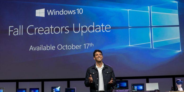 Microsoft anunció en IFA Berlín que la próxima actualización de Windows 10, la Fall Creators Update, estará disponible en todo el mundo el 17 de octubre. (Foto Prensa Libre: Microsoft)