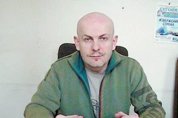 Olea Buzina, periodista ucraniano proruso. (Internet).
