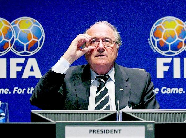 Joseph Blatter, presidente de FIFA. (Foto Prensa Libre: Hemeroteca PL)