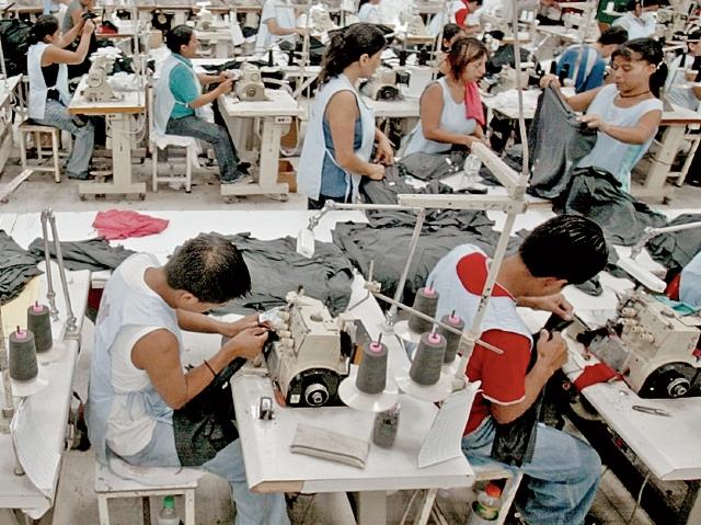 Estados Unidos es el principal destino de las prendas de vestir que se producen en Guatemala. (Foto Prensa Libre: Hemeroteca PL)