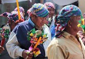 Las cofradías indígenas de varias regiones de Guatemala son parte del Patrimonio Cultural Intangible de la Nación. (Foto Prensa Libre: Cortesía Equipo Hacer Memoria).