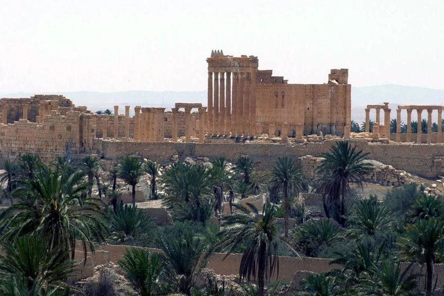 Palmira está enclavada en medio de un oasis en el desierto sirio. (Foto Prensa Libre: AP).
