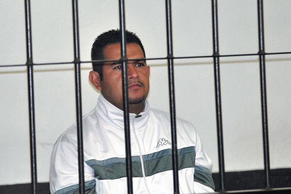 Marlon Adolfo López enfrenta juicio por la muerte de un piloto. (Foto Prensa Libre: Alejandra Martínez).