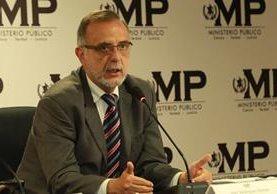 Iván Velásquez, jefe de la Cicig. (Foto Prensa Libre: Estuardo Paredes)