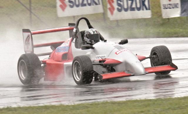 Mauricio Roque es gran favorito para coronarse en la Fórmula Mazda. (Foto: Hemeroteca PL)