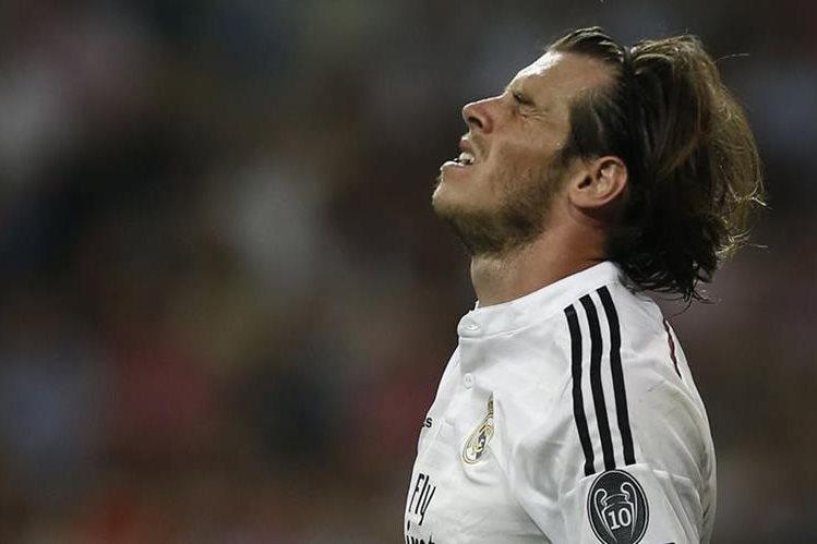 Gareth Bale sigue sufriendo de lesiones, lo cual lo ha convertido en irregular. (Foto Prensa libre: AFP).
