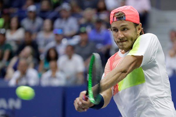 Lucas Pouille es la mayor sorpresa del torneo. (Foto Prensa Libre: AFP)
