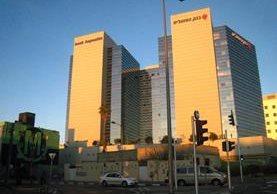 Torres del Banco Hapoalim, en Tel Aviv, Israel. (Foto Prensa Libre: internet)