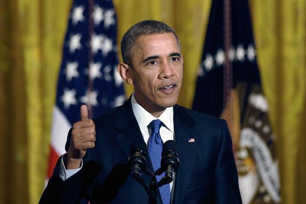 El presidente estadounidense, Barack Obama habla a la prensa en la Casa Blanca,  (Foto Prensa Libre:AP)