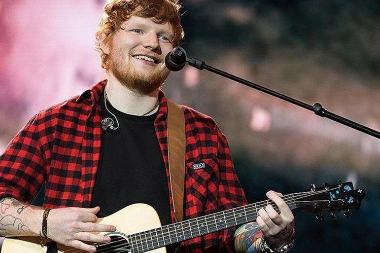 El artista británico Ed Sheeran reinó en las listas del reproductor digital Spotify (Foto Prensa Libre: BBC).