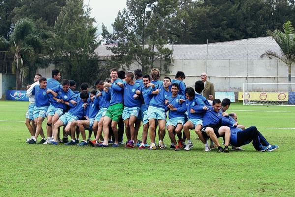 La Selección Sub-20 que en enero de este año buscó su clasificación a la Copa del Mundo de Nueva Zelanda 2015.