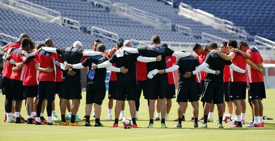 Costa Rica buscará dar su primer paso en la Copa América 2016. (Foto Prensa Libre: EFE)
