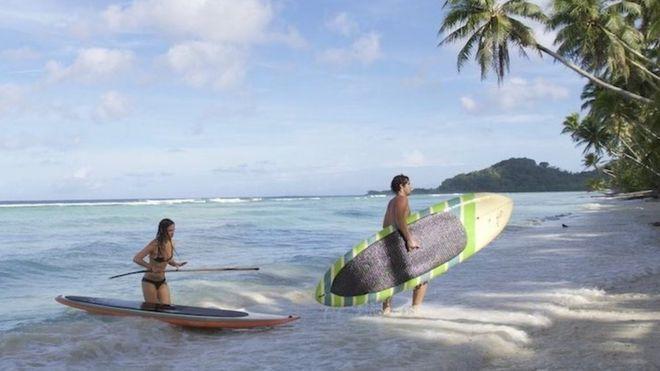 A la isla llegan vuelos diarios desde Guam y Hawái. MICRONESIARAFFLE.COM