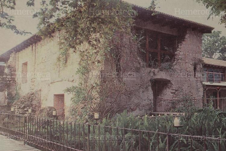 Instalaciones del Hotel Casa Santo Domingo en Antigua Guatemala. (Foto: Hemeroteca PL)