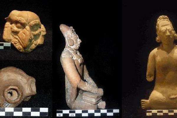Instrumentos musicales mayas