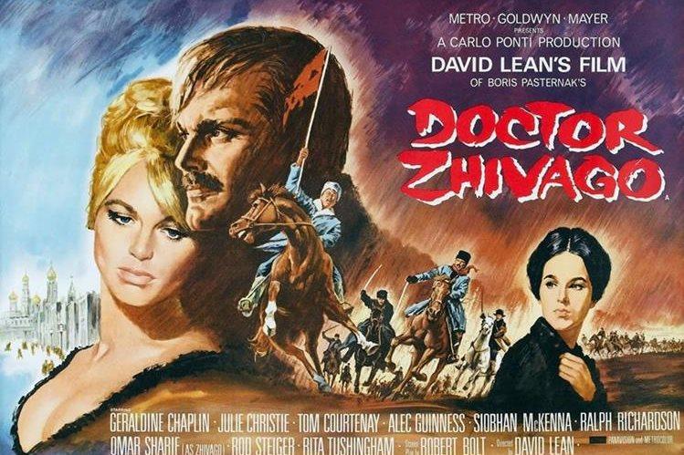 Doctor Zhivago cautivó a los amantes del cine. (Foto Prensa Libre: Hemeroteca PL)