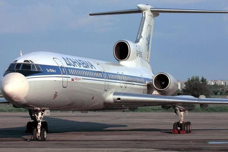 Foto de archivo de avión ruso accidentado cuando iba con destino a Siria. (Foto Prensa Libre: AFP)