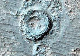 las más recientes imágenes de Marte en alta resolución.