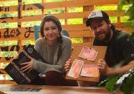 Cristina y Javier Vides son hermanos y juntos crearon el concepto del negocio. (Foto Prensa Libre: Alvaro Interiano)