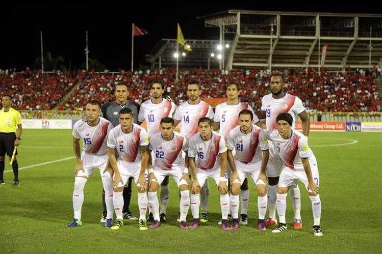 Costa Rica debutó con victoria sobre Trinidad y Tobago el viernes anterior. (Foto Prensa Libre: AFP)