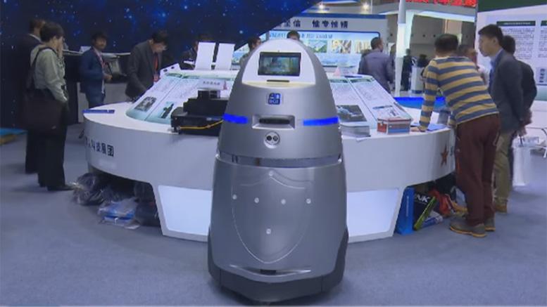 AnBot fue desarrollado por la Universidad de Tecnología para la Defensa de la ciudad central de Changsha. (Foto: Hemeroteca PL).