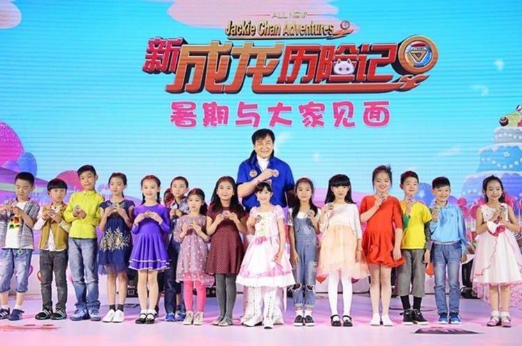 Jackie Chan dará consejos a niños en nueva serie (Foto Prensa Libre, tomada de PRNewsfoto/Talent International Film Co.)