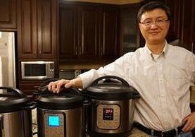 Robert Wang junto con un amigo fueron son los creadores de la olla a presión inteligente (JIWEI WANG)