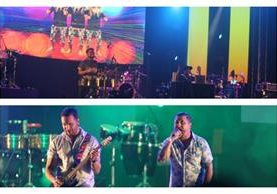 Los grupos guatemaltecos El Salto del Tigre y Tijuana Love ofrecen concierto en El Salvador. (Foto Prensa Libre: Keneth Cruz)