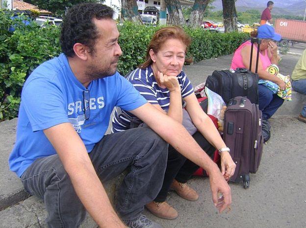 Édgar Acevedo dejó a su familia en Venezuela para trabajar y enviarles dinero desde Bogotá. GUSTAVO OCANDO ALEX