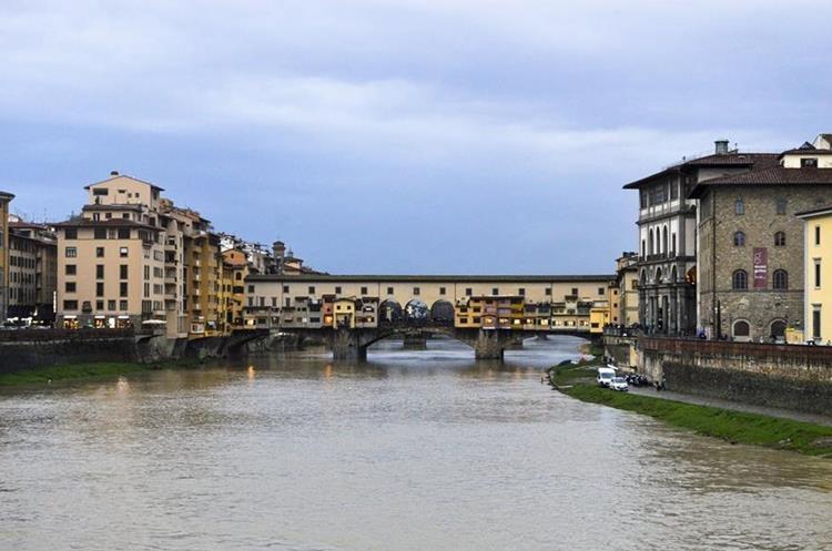 Ponte Vecchio. Foto Prensa Libre: Roberto Villalobos Viato.
