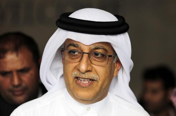 El Jeque Salman, candidato FIFA, hace denuncias. (Foto Prensa Libre: Hemeroteca PL)