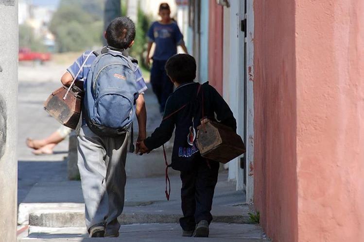 Se calcula que en Guatemala 790 mil niños y niñas son explotados laboralmente. (Foto Prensa Libre: Hemeroteca PL)