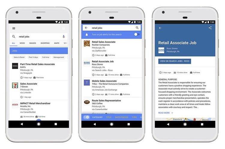 Google pondrá a disposición de todo el mundo consejos y guías para que sus anuncios de empleos aparezcan en los resultados del buscador.(Courtesy of Google via AP)