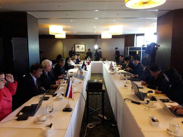 La séptima ronda de negociaciones para un TLC entre Corea y Centroamérica empezó ayer en Seúl. (Foto Prensa Libre: Cortesía)