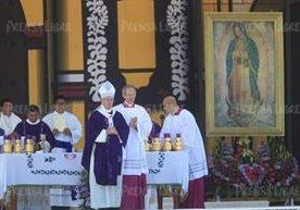 Cientos de chapines viajaron a Chiapas para ver al Papa.