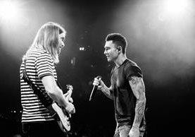 Maroon 5 ya dio a conocer dónde será el histórico primer concierto en Guatemala (Foto Prensa Libre: Maroon 5).