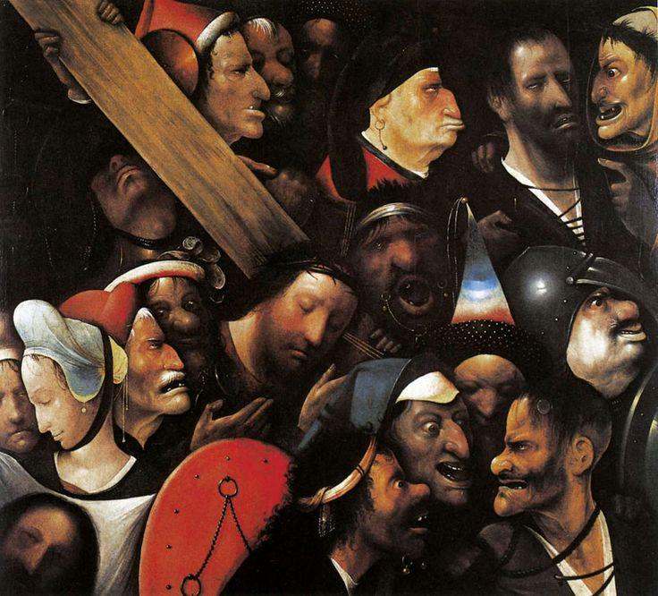Cristo con la Cruz a cuestas, de El Bosco. (Foto Prensa Libre: Hemeroteca PL).