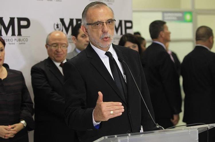 Iván Velásquez, jefe de Cicig, tiene contrato con la ONU hasta 2019. (Foto: Esbin García)