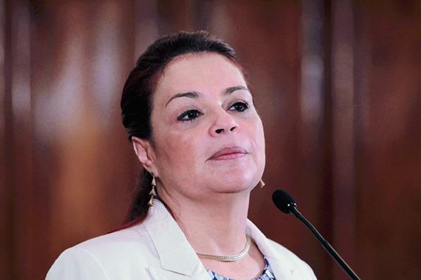 Movimiento Nueva República presenta antejuicio contra la vicepresidenta Roxana Baldetti. (Foto Prensa Libre: Hemeroteca)
