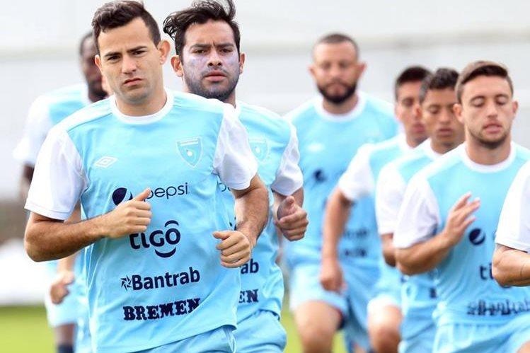 La Selección Nacional de futbol no tiene actividad en el plano internacional desde septiembre del año pasado (Foto Prensa Libre: Hemeroteca PL)