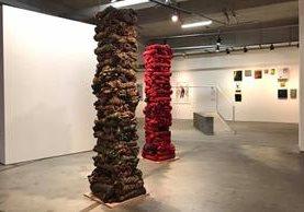 """Muestra de """"Columna Vertebral Roja"""", un homenaje a las mujeres mayas Q'eqchi' de las Verapaces, estará expuesta en Brasil (Foto Prensa Libre: Facebook Sandra Monterroso)."""